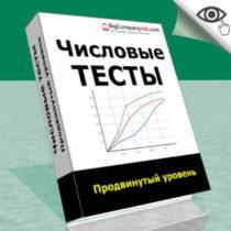 Числовые тесты Продвинутого уровня (Advanced Managerial Tests)